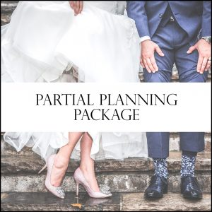 Partial Wedding Planning Wedding day coordinator services