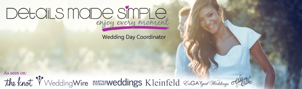 Details Made Simple | Wedding Day Coordinator
