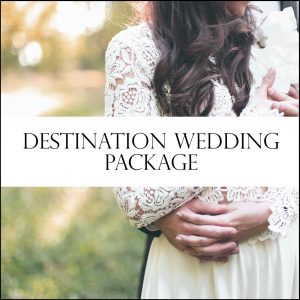 Destination Wedding Day coordinator services.