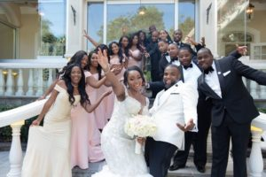 The wedding of Shanice and Jon Michael.