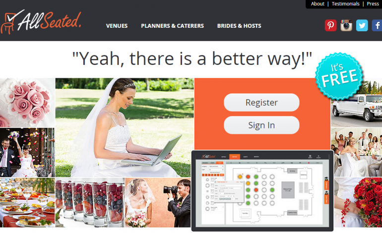 Guest Post: FREE Wedding Planning Tool ALLSEATED Makes Seating ...