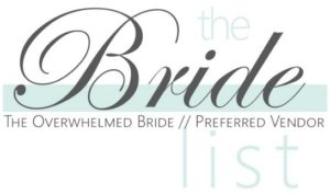 A bade for The Overwhelmed Bride list.