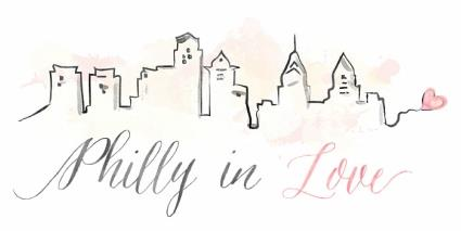 The logo for Philly in Love.