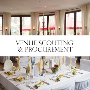 VENUE SCOUTING AND PROCUREMENT
