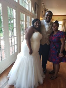 wedding of robert and ebony