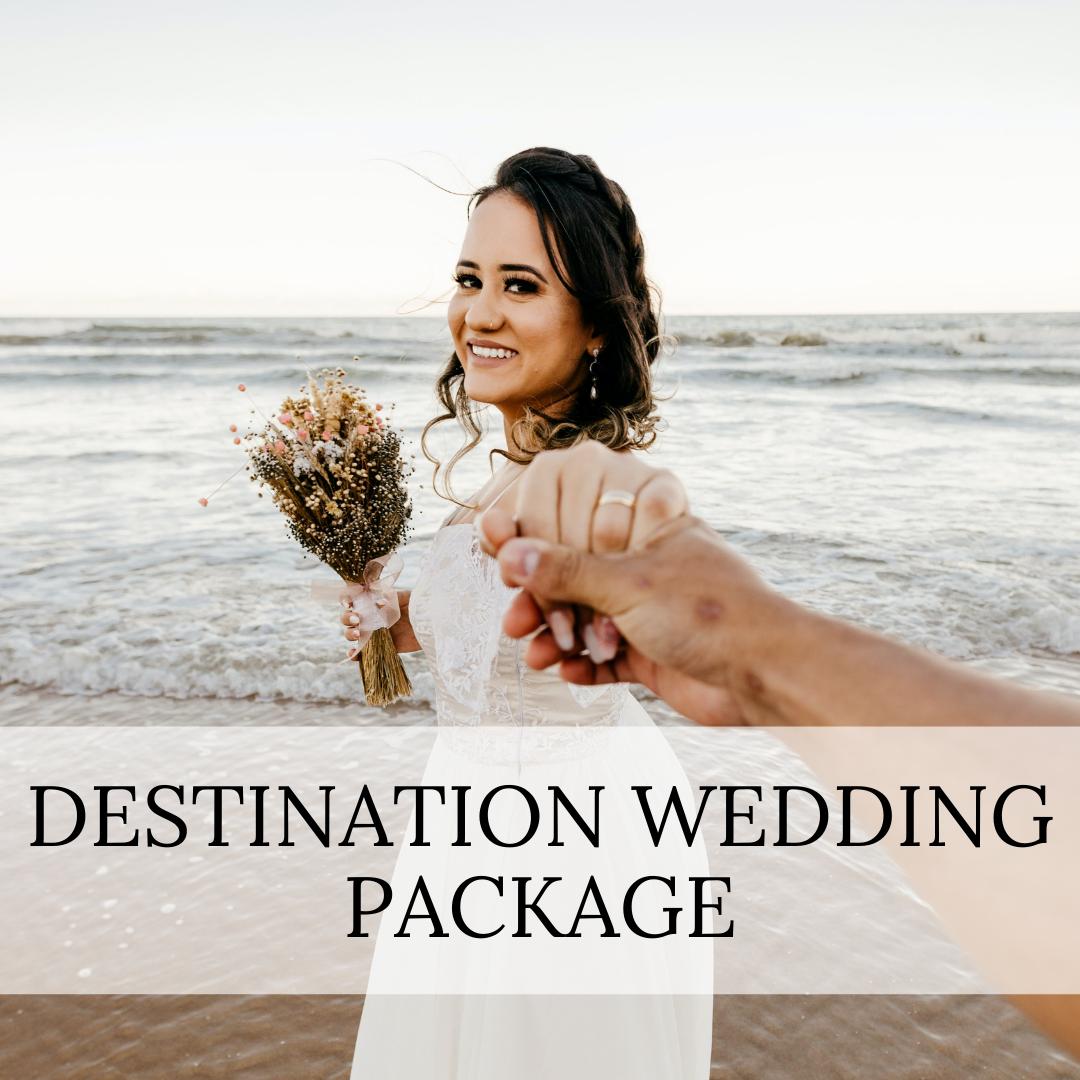 Destination Wedding Day coordinator services.